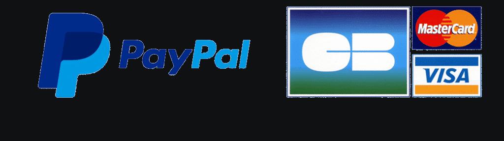 logos paiements sécurisés
